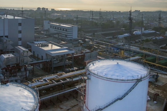 Chemical storage tanks, ammonia